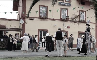 As feiras de 1900 en Curtis